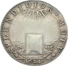 O3676 RARE Jeton Conseil du Roi Louis XIII SPLENDIDIOR MOTV Argent Silver SUP
