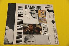 """7"""" SOLO COPERTINA SENZA DISCO enzo jannacci 7"""" PER UN BASIN ORIG 1966"""