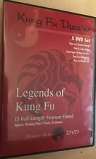 Kung Fu Theater - Legends of Kung Ku 5 DVD Set Region 1