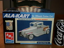 "DESIGNED by GEORGE BARRIS - ""ALA-KART"" CUSTOM CAR, Plastic Model Kit, Scale 1/25"
