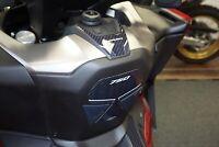 Adesivo in gel 3D protezione pedana zona accensione compatibile Honda Forza 750