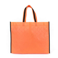 Fabric Storage Eco Reusable Shopping Bag Tote Foldable Grocery Recycle N6t Orange