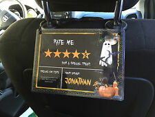 5 Star Rating Rideshare Sign Ubr Lyft Getme Set of 2 TIPS