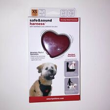 SmartPetLove Safe & Sound Dog Harness XS Up to 5lb With Heartbeat Anxiety Relief