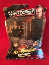 WWE Flex Force UNDERTAKER Fist Poundin' w/ Speaker & Tower FLEXFORCE MATTEL 2010