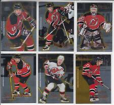 95/96 Pinnacle Certified Select New Jersey Devils Team Set Brodeur Sykora RC +
