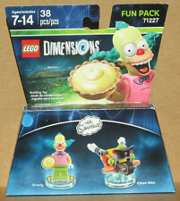 LEGO Dimensions The Simpsons Krusty Fun Pack Model 71227 new sealed
