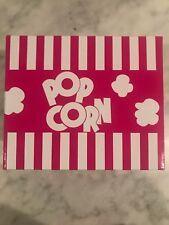 Nib Epoca Micro-Pop Popcorn Popper 1.5 Quart Temperature Safe Glass (Fuchsia)