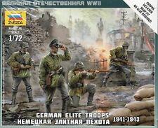Zvezda 1/72 figuras-Alemán las tropas de elite 1941-1943 Z6180