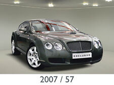2007 57 Bentley Continental 6.0 GT 2dr Mulliner Driving Specification EXCLUSIVE