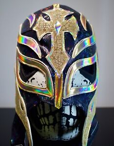 Mexican Wrestling Mask Rey Misterio AAA Halloween WWE PREMIUM QUALITY item gift