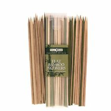 "Totally Bamboo 12"" Flat BBQ / Kebob Skewers - 50ct"