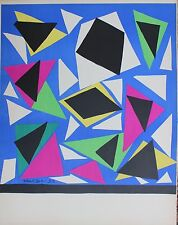 Henri Matisse Original Poster Exposition d' Affiches Mourlot 1952 Very Rare
