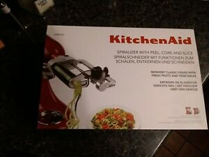 Kitchenaid Spiralizer with Peel, Core and Slice 5KSM1APC Brand New In Box