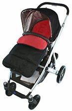 Footmuff/Cosy Toes Compatible with Phil & Teds Verve Pushchair Fire Red