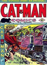 Catman Comics #5 Photocopy Comic Book, 1st Kitten Appearance