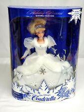 1996 Mattel Disney Holiday Princess Cinderella Barbie Special Doll #16090 Nrfb