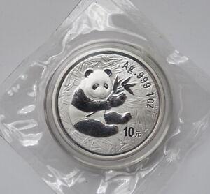 2000 Panda Coin 10 YUAN 1OZ 30g