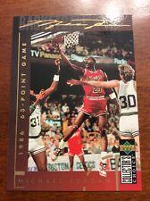 1994 Collectors Chioce Basketball Michael Jordan # 212 Gold Script Mint Cond.