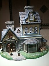 New ListingPartylite Olde World Village Candle Shoppe Tealight House Retired P7315