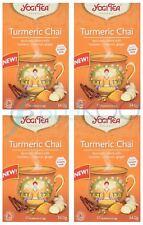 Yogi Tea Curcuma Chai - 17 Intercalaires (Pack de 4)
