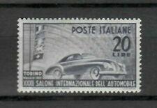 S21557) Italy 1950 MNH New Salon Car 1v