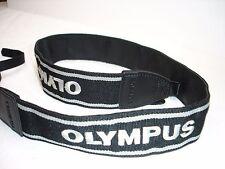 "Olympus camera neck strap 1 1/2"" Wide. pictured model Genuine #001961"
