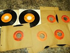 STONEWALL JACKSON lot of 7   early country bop  (ROCKABILLY)  h37