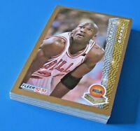 MICHAEL JORDAN BASKETBALL CARD LOT OF 20 CARDS ~ Hoops Fleer Skybox Early 1990s