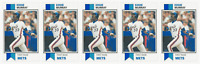 (5) 1993 SCD #50 Eddie Murray Baseball Card Lot New York Mets