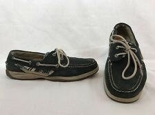 Sperry Top-sider Intrepid Boat Shoes Mens  Sz 10 M Blue Leather 9754417