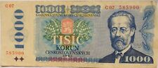 More details for 1985 czechoslovakia 1000 korun banknote .