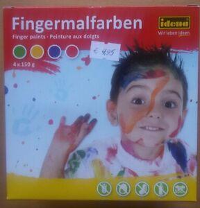 idena Fingermalfarben 4x150 g
