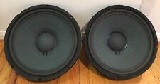"Altec Lansing 411-8A 15"" LF Woofer Speaker 8 ohm  ** PAIR **"