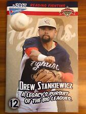Reading Fightin Phils SGA Program #12 Phillies Prospect Drew Stankiewicz