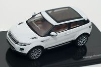 Land Rover Evoque in White, official Land Rover dealer model, IXO 1:43 scale