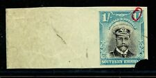 S.RHODESIA 1924 ADMIRAL 1/ WATERLOW IMPERFORATE CORNER PROOF MNH. A369