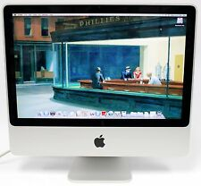 """AS IS ! Apple iMac 20"""" Mid 2007 Dual-Core Intel 2 Duo 2GHz 2GB 250GB OS X 10.5.8"""