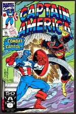 Captain America #393 - 1991, October - Combat Over the Capitol!