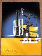 YALE ALF SERIES FORKLIFT Sales Brochure