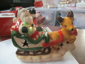 Santa and Reindeer Ornament