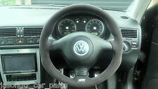 VW Mk4 Golf R32  -  steering wheel genuine alcantara - RETRIMMING SERVICE