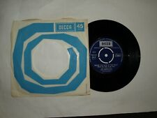 """WHERE THE BLUE OF THE NIGHT / CATERINA - THE BACHELORS - 7"""" SINGLE -  FREE P&P"""