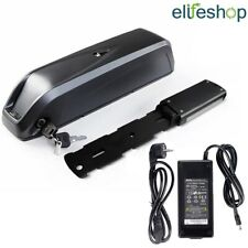 36V 12,5Ah Nera Batteria al Litio per Bici Elettriche Ebike + Caricabatteria