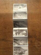 Set 9 B/W Real Photograph Postcards Greetings Scarborough North Yorkshire Photos