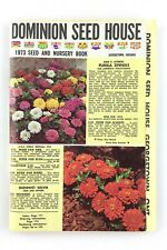 Dominion Seed House 1973 Georgetown Seed And Nursery Book Booklet Catalog L340