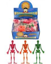Bulk Wholesale Job Lot 252 Stretchy Skeletons Halloween Toys