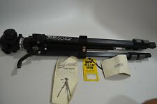 NWOB SLIK 504 QF Tripod Heavy Duty PHOTO VIDEO Excellent Condition Made Japan