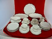 23 HARMONY HOUSE FINE CHINA STARLIGHT # 3656 HAND PAINTED DINNERWARE JAPAN