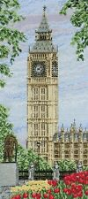 ANCHOR COUNTED CROSS STITCH KIT WESTMINSTER CLOCK landscape NEW